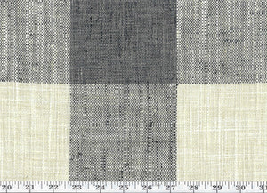 Check Please Plus CL Stone Drapery Upholstery Fabric by P Kaufmann