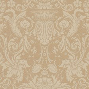 Chelsea Damask CL Sandalwood Double Roll of Wallpaper by Ralph Lauren