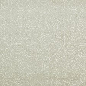 Colony Club Floral CL Pearl Grey Double Roll of Wallpaper by Ralph Lauren