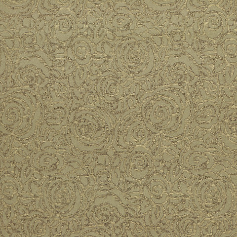 Colony Club Floral CL Bronze Double Roll of Wallpaper  by Ralph Lauren