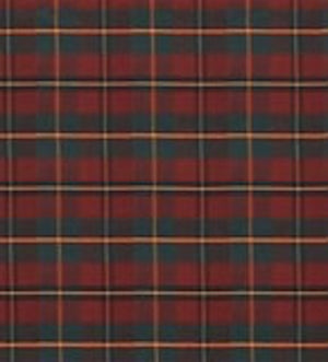 Colter Falls Plaid CL Tartan Red Upholstery Fabric by Ralph Lauren