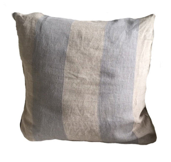 Cooper Stripe CL Flax (Clarence House) Decorative Pillow Cover