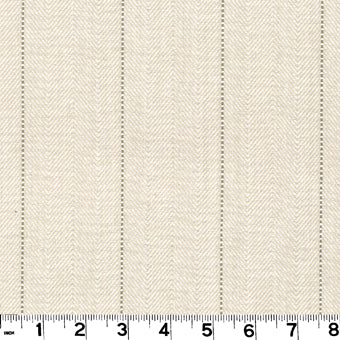 Copley Stripe CL Linen Drapery Upholstery Fabric by Roth & Tompkins