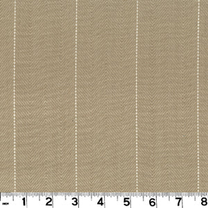 Copley Stripe CL Oatmeal Drapery Upholstery Fabric by Roth & Tompkins