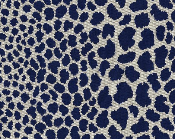 Cosmos CL Indigo Drapery Upholstery Fabric by  P Kaufmann