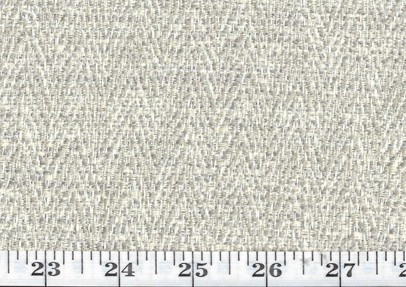 Dapper CL Bone Indoor Outdoor Upholstery Fabric by American Silk Mills