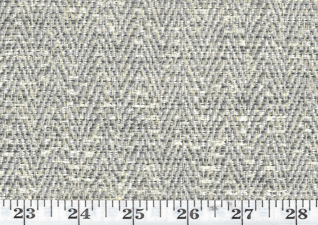 Dapper CL Grey Indoor Outdoor Upholstery Fabric by American Silk Mills