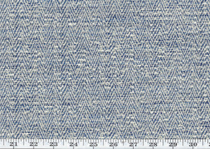Dapper CL Indigo Indoor Outdoor Upholstery Fabric by American Silk Mills