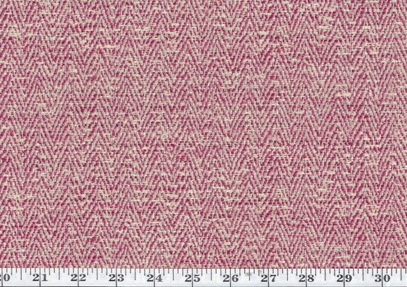 Dapper CL Raspberry Indoor Outdoor Upholstery Fabric by American Silk Mills