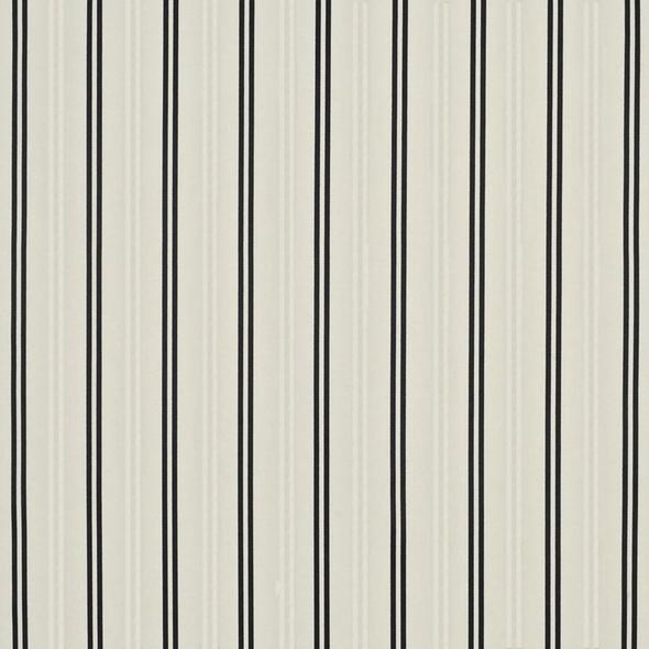 Del Mar Stripe CL Cream Drapery Upholstery Fabric by Ralph Lauren