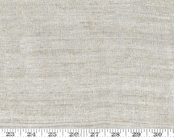 Desert Moire CL Natural Sheer Drapery Fabric by CH