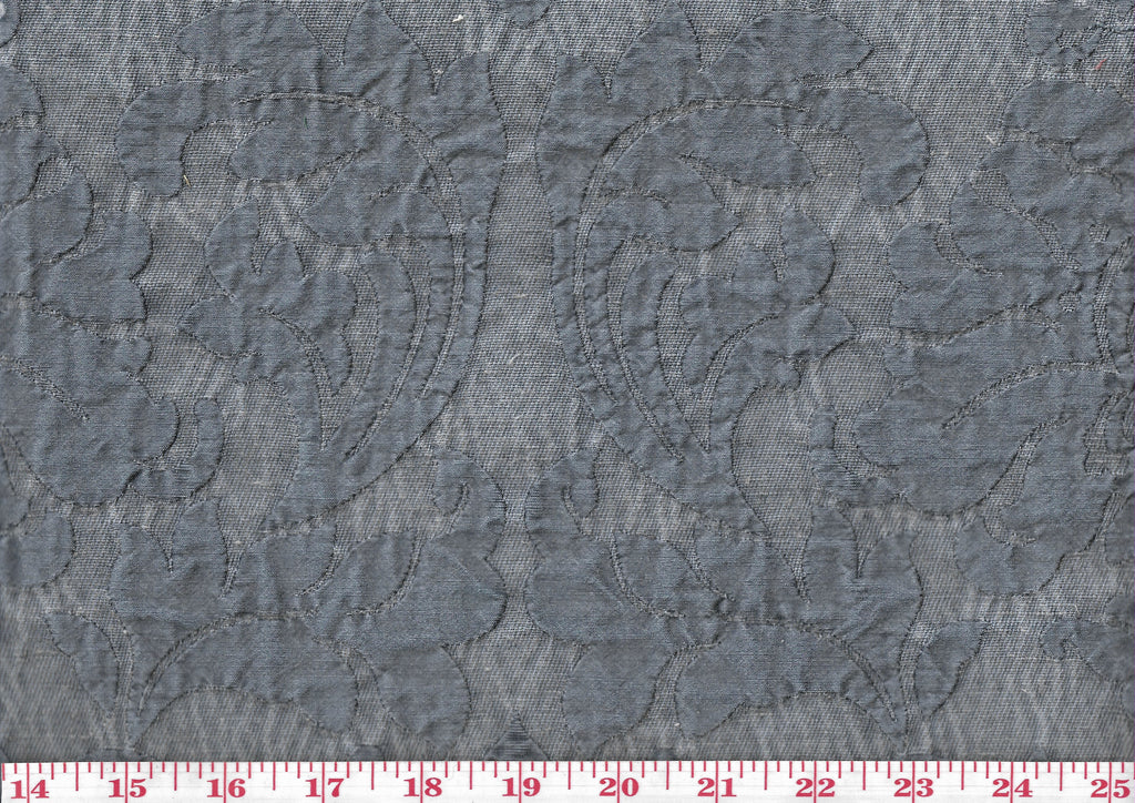 Dierdre CL Denim Drapery Upholstery Fabric by Golding Fabrics