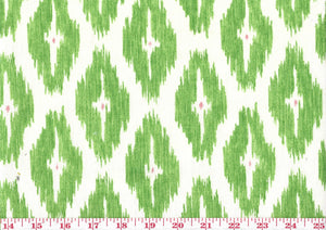 Diwali CL Green Drapery Upholstery Fabric by P Kaufmann