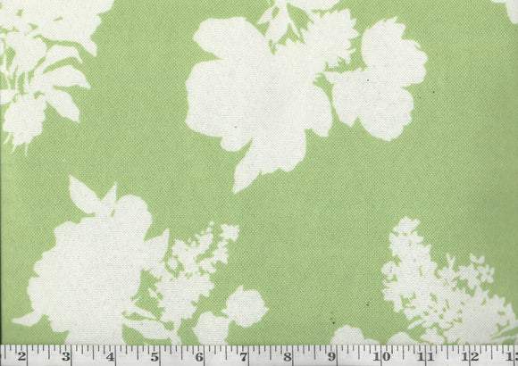 Elystan Cottage CL Seafoam Drapery Upholstery Fabric by Madcap Cottage