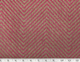 Erin Herringbone CL Fuschia Single Roll of Wallpaper  by Ralph Lauren