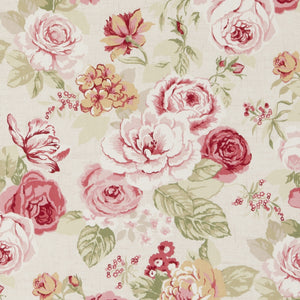Genevieve Old Rose Upholstery Fabric by Kravet