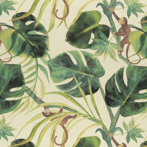 Monkey Business Natural Upholstery Fabric By Kravet