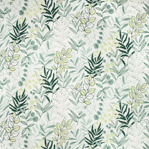 Ferngarden CL Teal Drapery Upholstery Fabric by Kravet