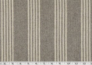 Fawkes Woolen Stripe CL Walnut Drapery Upholstery Fabric by Ralph Lauren
