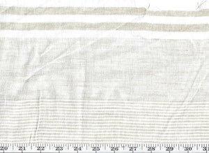 "Further Stripe Sheer CL Seagull 121"" Width Drapery Fabric by Ralph Lauren"