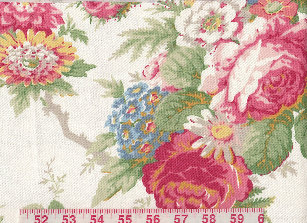 Garden Club CL White Drapery Upholstery Fabric by Ralph Lauren