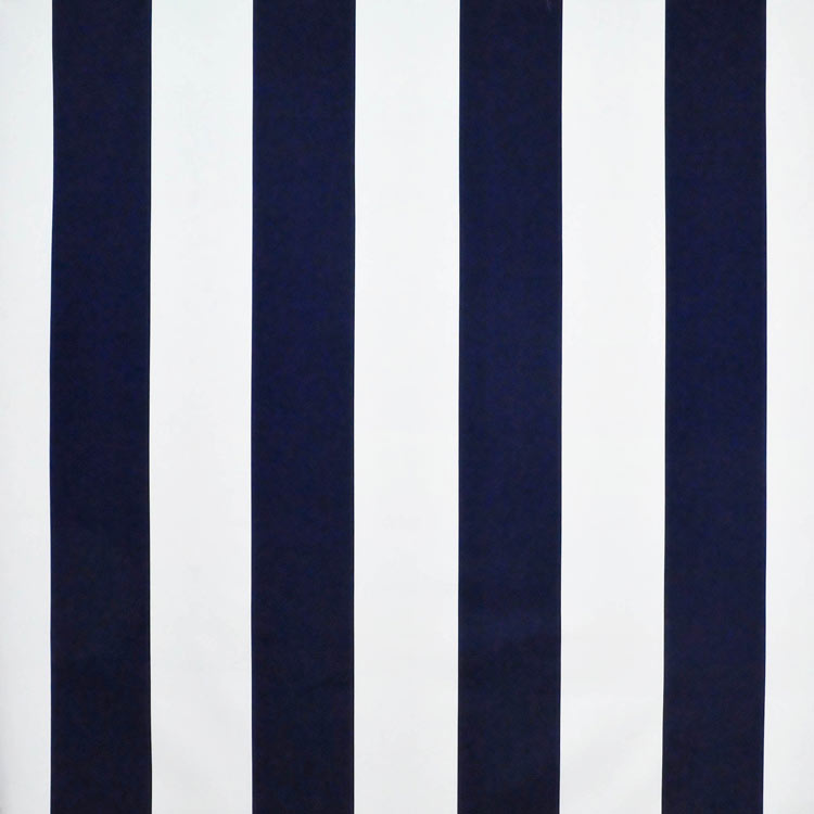 Gaston Stripe CL Resort Navy Drapery Upholstery Fabric by Ralph Lauren