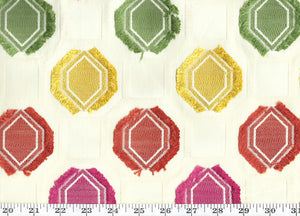 Gumdrops CL Multi Drapery Upholstery Fabric by American Silk Mills