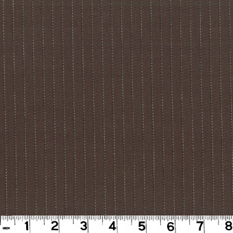 Harris CL Chocolate Drapery Upholstery Fabric by Roth & Tompkins