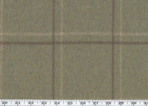 Harrison Tattersal CL Sage Drapery Upholstery Fabric by Ralph Lauren
