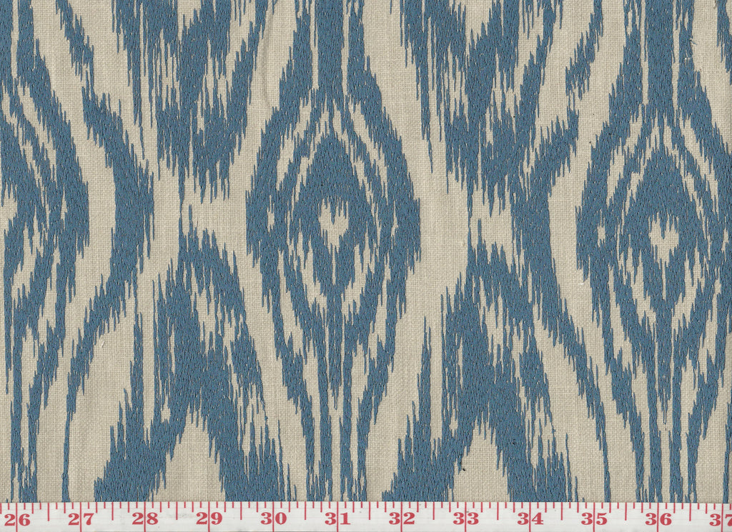 Hobby Time CL Blue Upholstery Fabric by P Kaufmann