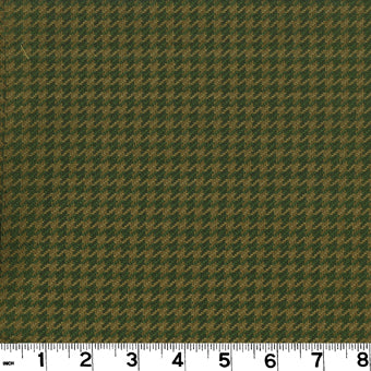 Houndstooth CL Olive Upholstery Fabric by Roth & Tompkins