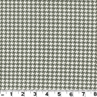 Houndstooth CL Truffle Upholstery Fabric by Roth & Tompkins