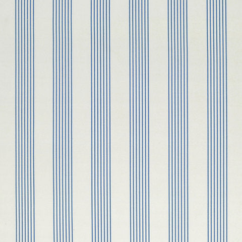 Howell Stripe CL Delft Drapery Fabric by Ralph Lauren