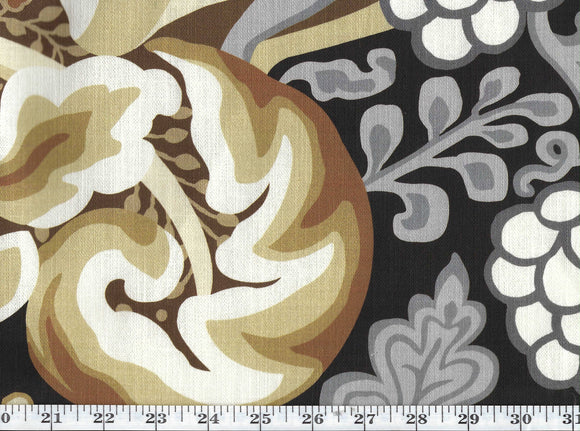 Hullabaloo CL Cognac Drapery Upholstery Fabric by Kravet