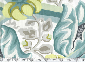 Hullabaloo CL Seafoam Drapery Upholstery Fabric by Kravet