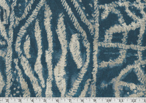 Intrigue CL Indigo Drapery Upholstery Fabric by P Kaufmann