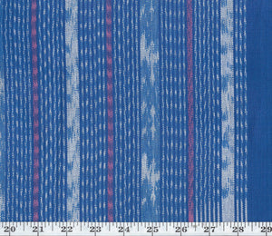 Java Ikat Stripe CL Java Sea Drapery Upholstery Fabric by Ralph Lauren