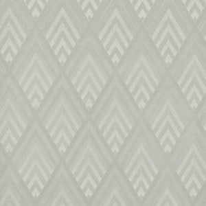 Jazz Age Geometric CL Pearl Grey Double Roll of Wallpaper by Ralph Lauren