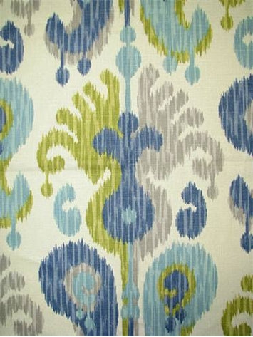 Journey CL Aquamarine Drapery Upholstery Fabric by Braemore Textiles