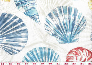 Just Beachy CL Tidepool Coastal Drapery Upholstery Fabric by Golding Fabrics