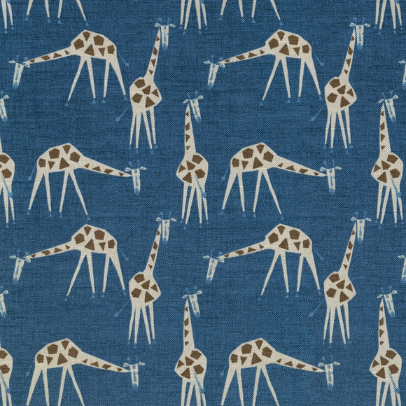 Just Giraffes CL Twilight Drapery Upholstery Fabric by Novogratz Fabric and PK Lifestyles