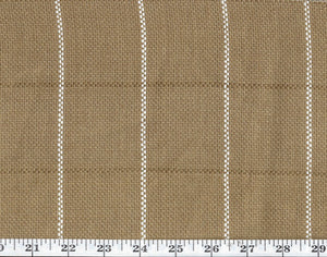 Keap Check CL Pecan Drapery Upholstery Fabric by Ralph Lauren