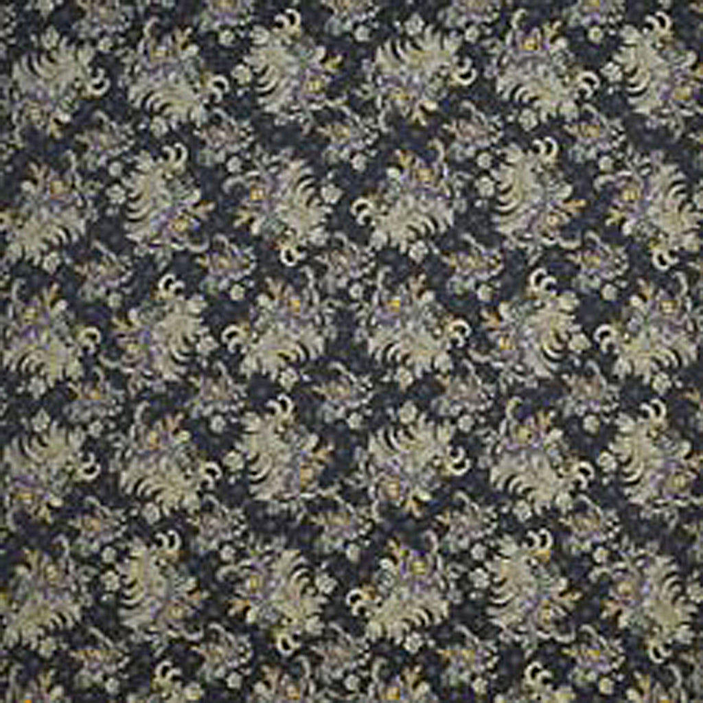 Lafayette Jacquard CL Black Upholstery Fabric by Ralph Lauren