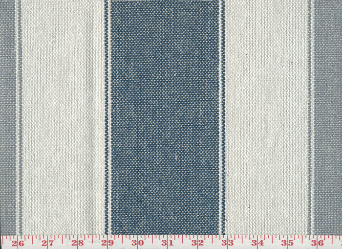 Lama CL Denim Upholstery Fabric by Sheldon and Barnett