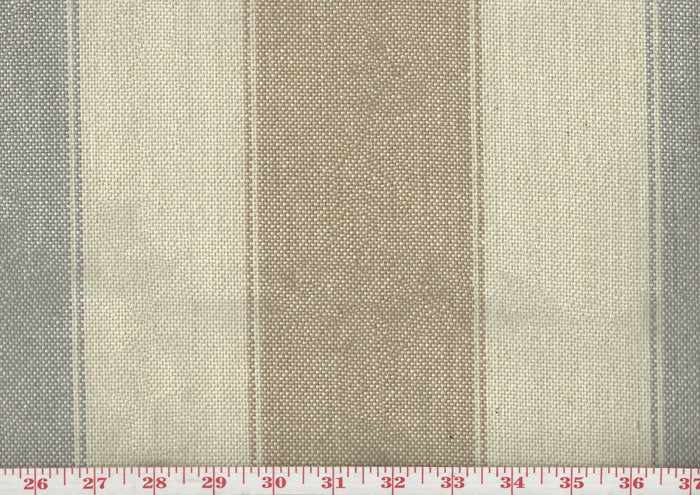 Lama CL Tobacco - Grey Upholstery Fabric by Sheldon and Barnett