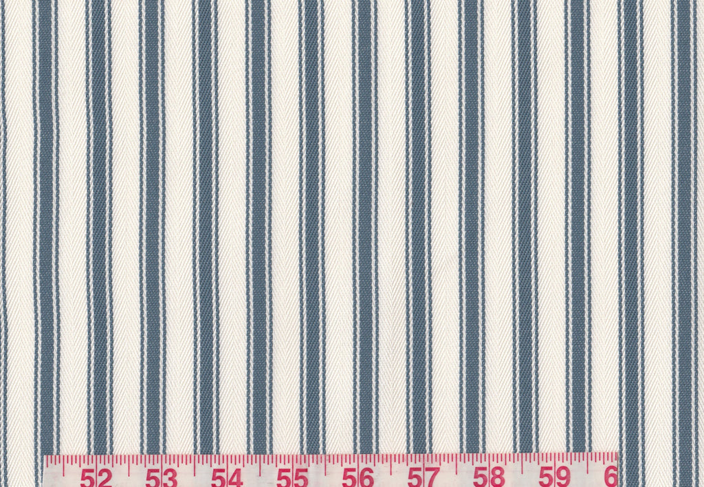Little Bay Ticking CL Fog Outdoor Upholstery Fabric by Ralph Lauren