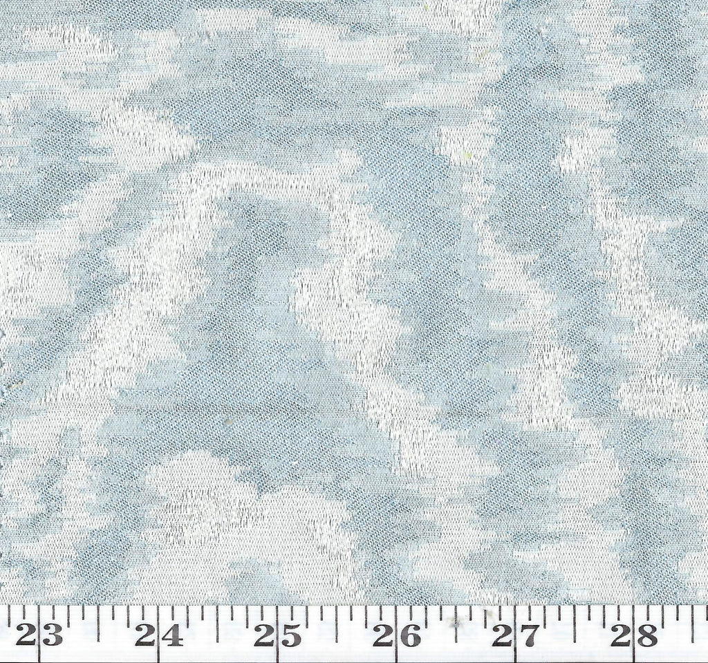 Madeleine CL Sky Blue Drapery Upholstery Fabric by American Silk Mills
