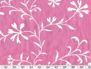Marblehead Embroidery CL Pink Drapery Fabric by Ralph Lauren