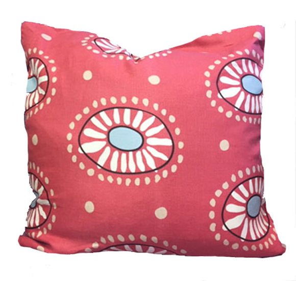 Marisol CL Dark Pink (Clarence House) Decorative Pillow Cover