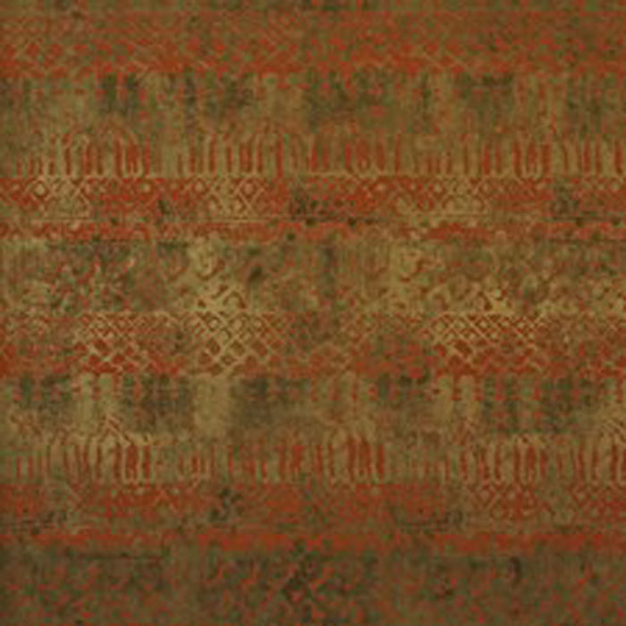 Marrakech CL Paprika Double Roll of Wallpaper by Ralph Lauren